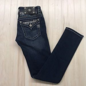 Miss Me women's skinny jeans size 25